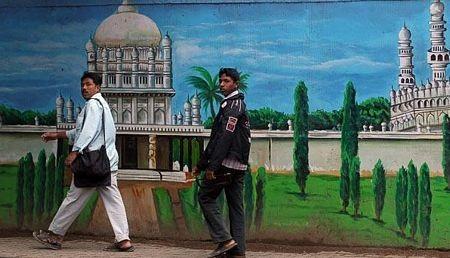 Kho bích hoạ sống động trên đường phố Bangalore - 13