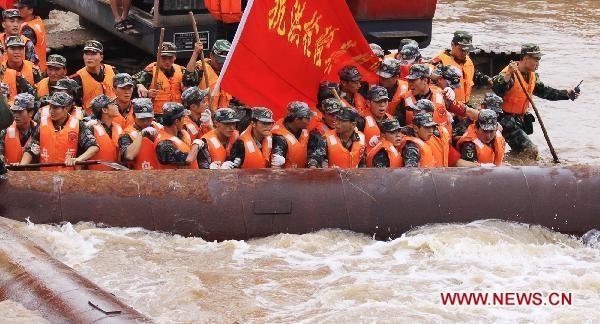 Trung Quốc: Hồ chứa đập Tam Hiệp lên cao, đe dọa gây lụt lớn - 1