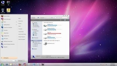 """""""Lột xác"""" Windows 7 thành Mac OS - 3"""