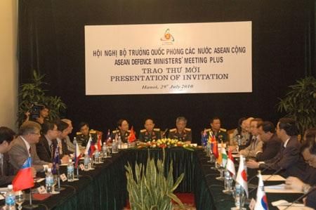 VN trao thư mời các nước dự Hội nghị Bộ trưởng Quốc phòng ADMM+8 - 1
