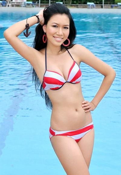 22 người đẹp miền Bắc khoe dáng với bikini - 5