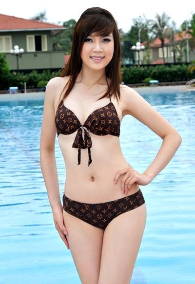 22 người đẹp miền Bắc khoe dáng với bikini - 4