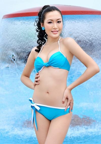 22 người đẹp miền Bắc khoe dáng với bikini - 19