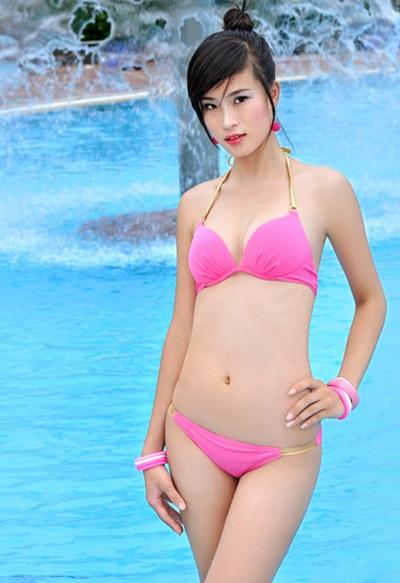 22 người đẹp miền Bắc khoe dáng với bikini - 16