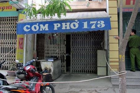 Hà Nội: Chủ hàng phở bị sát hại dã man - 1