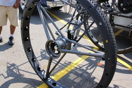 """Xe đạp 4 chỗ, 4 bánh """"siêu khủng"""" - 10"""