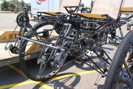 """Xe đạp 4 chỗ, 4 bánh """"siêu khủng"""" - 7"""