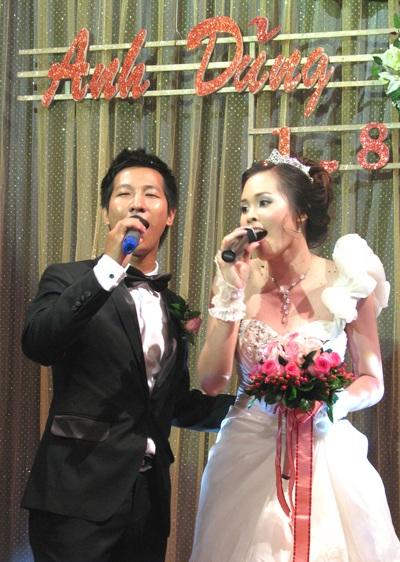 """Đám cưới của """"sao mai"""" Lê Anh Dũng tràn ngập âm nhạc - 10"""