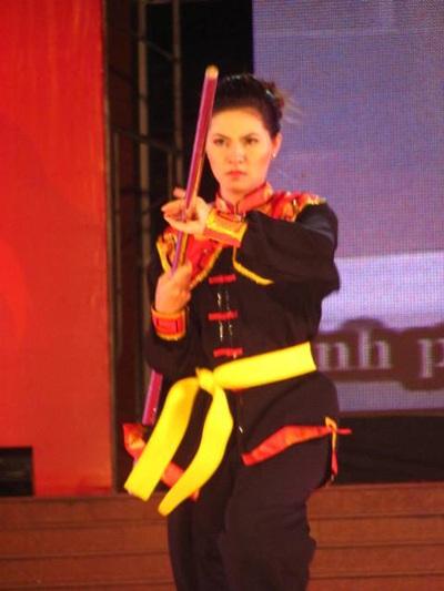 Lộ diện người đẹp võ thuật cổ truyền Việt Nam - 10