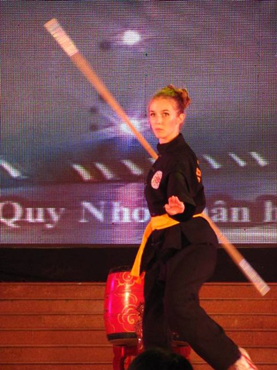 Lộ diện người đẹp võ thuật cổ truyền Việt Nam - 11