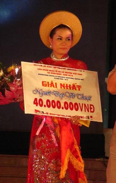Lộ diện người đẹp võ thuật cổ truyền Việt Nam - 13