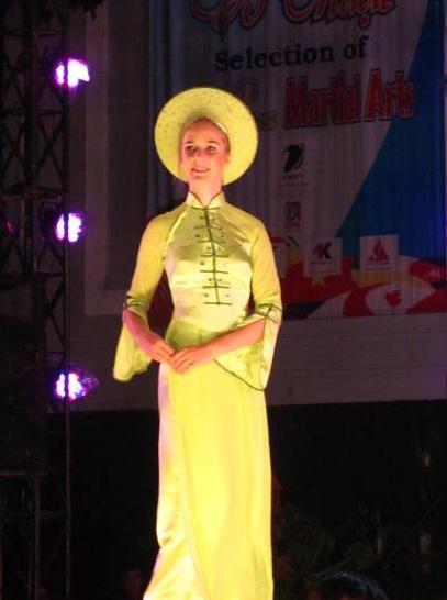 Lộ diện người đẹp võ thuật cổ truyền Việt Nam - 6