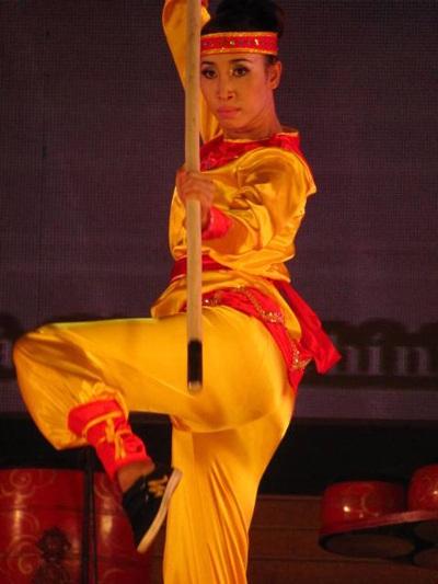 Lộ diện người đẹp võ thuật cổ truyền Việt Nam - 9