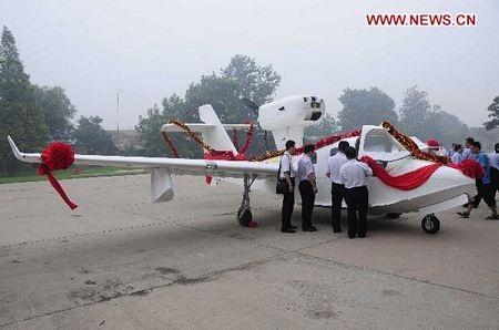 """Trung Quốc """"trình làng"""" máy bay lưỡng cư đầu tiên  - 2"""