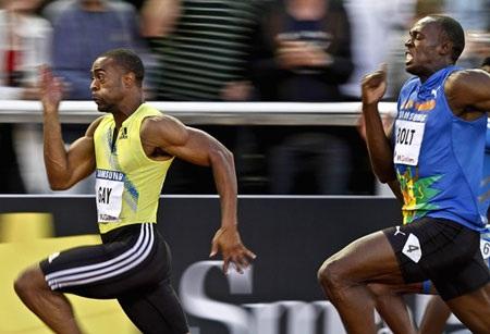 """""""Tia chớp"""" Usain Bolt nếm mùi thất bại ở cự ly sở trường - 1"""