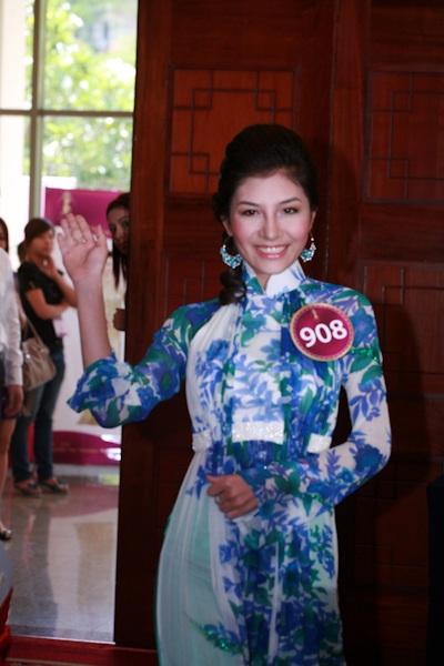 Jennifer Phạm làm MC chung kết Hoa hậu thế giới người Việt - 5