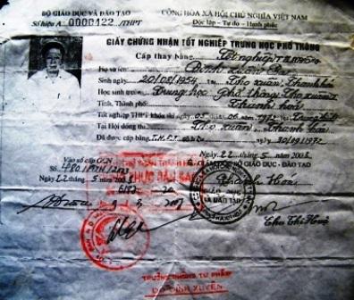 Chủ tịch HĐND xã xài bằng giả - 1