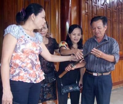 Phát hiện kiếm cổ tại Thành cụ Phan Đình Phùng - 1