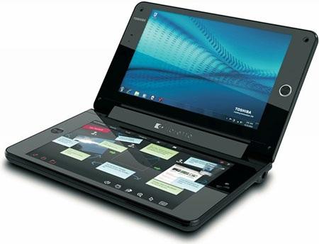 Toshiba chính thức bán laptop 2 màn hình tại Mỹ - 1