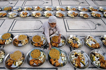 """Khám phá bữa """"xả chay"""" của người Hồi giáo - 1"""