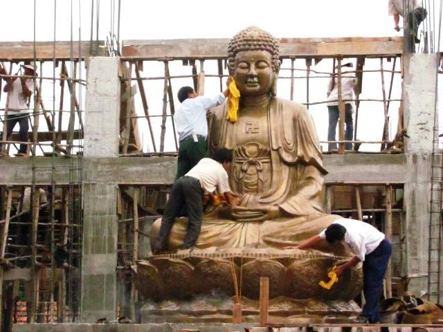 Cung đón tượng Phật Thích Ca Mâu Ni lớn nhất miền Trung - 4