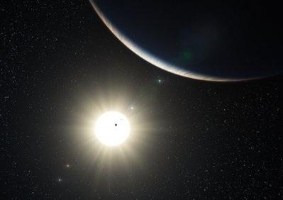 Phát hiện hành tinh nhỏ nhất ngoài hệ mặt trời - 1