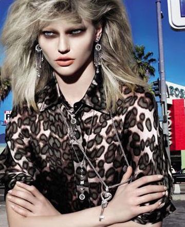 Sasha Pivovarova ấn tượng trong quảng cáo Just Cavalli  - 6