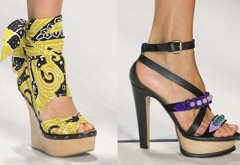 """Những kiểu giày dép """"hot"""" nhất tuần lễ thời trang Milan - 10"""