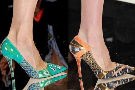 """Những kiểu giày dép """"hot"""" nhất tuần lễ thời trang Milan - 16"""