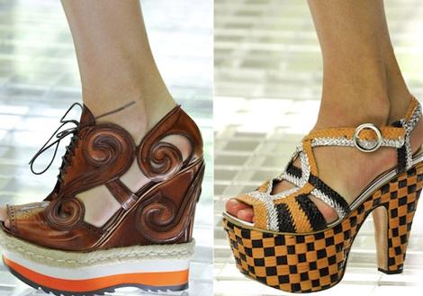 """Những kiểu giày dép """"hot"""" nhất tuần lễ thời trang Milan - 1"""