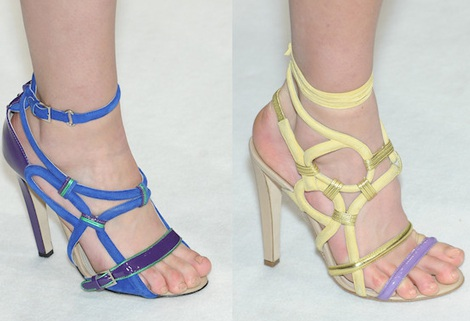 """Những kiểu giày dép """"hot"""" nhất tuần lễ thời trang Milan - 2"""