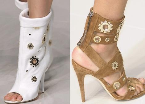 """Những kiểu giày dép """"hot"""" nhất tuần lễ thời trang Milan - 5"""