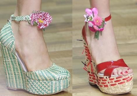 """Những kiểu giày dép """"hot"""" nhất tuần lễ thời trang Milan - 7"""