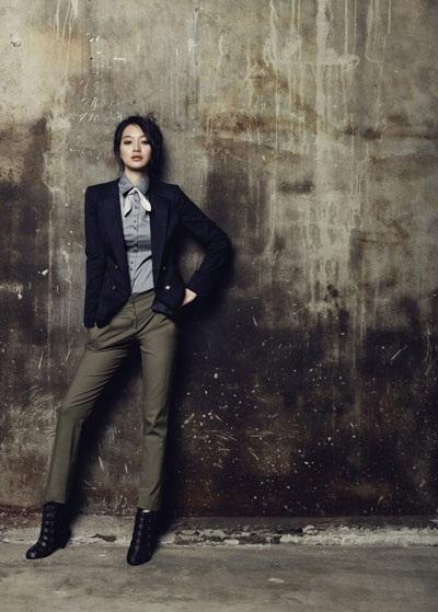 """Diện đồ thu đẹp như """"nàng cáo"""" Shin Min Ah - 14"""