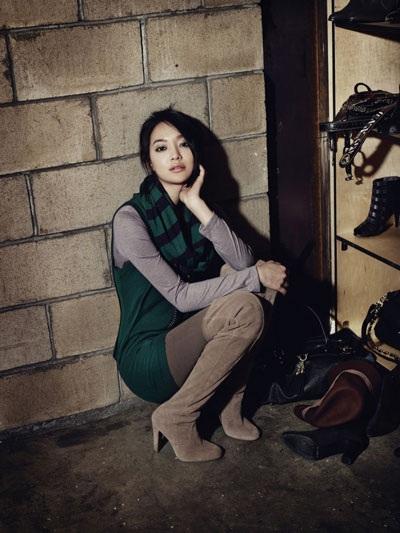 """Diện đồ thu đẹp như """"nàng cáo"""" Shin Min Ah - 16"""