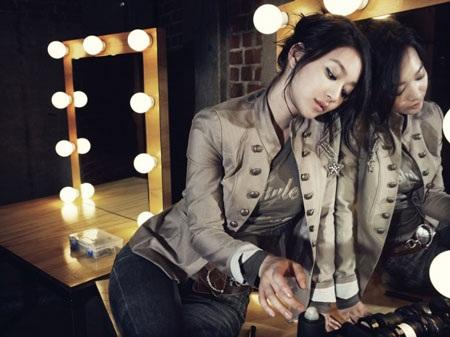 """Diện đồ thu đẹp như """"nàng cáo"""" Shin Min Ah - 2"""
