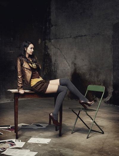 """Diện đồ thu đẹp như """"nàng cáo"""" Shin Min Ah - 25"""