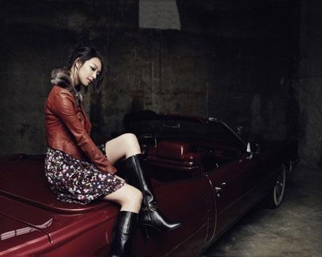 """Diện đồ thu đẹp như """"nàng cáo"""" Shin Min Ah - 3"""