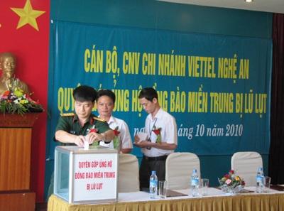 Nghệ An ủng hộ Hà Tĩnh 300 triệu đồng  - 1