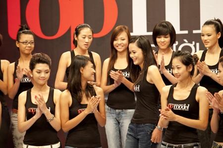 Vietnam Next Top Model: Những bài học đầu tiên - 1