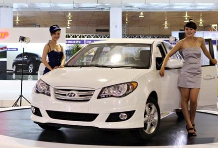 Hyundai Avante - Ngôi sao tại Auto Expo - 1