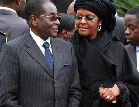 Phu nhân Tổng thống Zimbabwe ngoại tình với thống đốc ngân hàng - 1