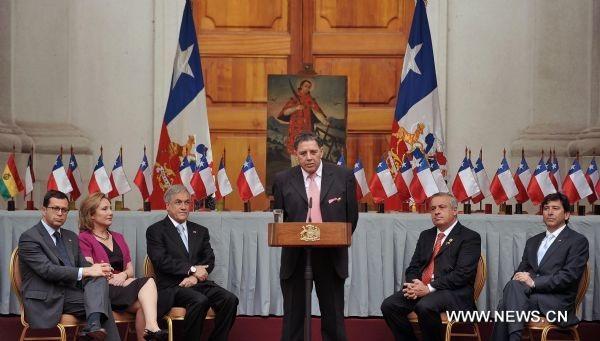 33 thợ mỏ Chile được vinh danh tại dinh Tổng thống - 1