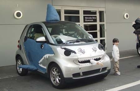 Hãi hùng xe trang trí kiểu Halloween - 11