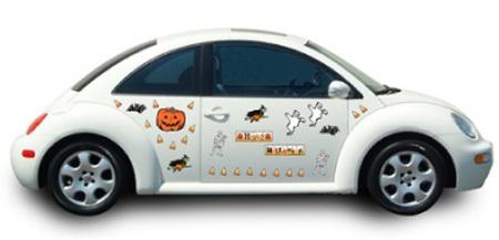 Hãi hùng xe trang trí kiểu Halloween - 9