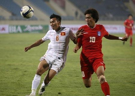 ĐT Việt Nam thúc thủ toàn diện trước U23 Hàn Quốc - 1