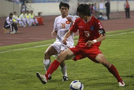 ĐT Việt Nam thúc thủ toàn diện trước U23 Hàn Quốc - 2