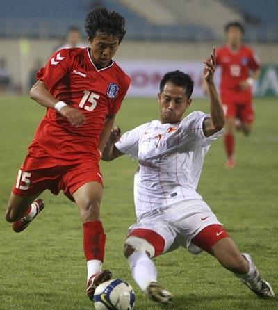 ĐT Việt Nam thúc thủ toàn diện trước U23 Hàn Quốc - 3