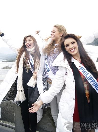 Người đẹp Hoa hậu Quốc tế được tặng búp bê - 16