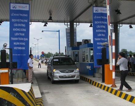 Cầu Cần Thơ khai trương dịch vụ thu phí không dừng đầu tiên tại Việt Nam - 1